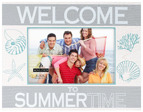 4x6 WELCOME TO SUMMERTIME Frame