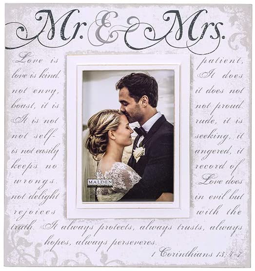 5x7 MR & MRS / CORINTHIANS 13 Frame