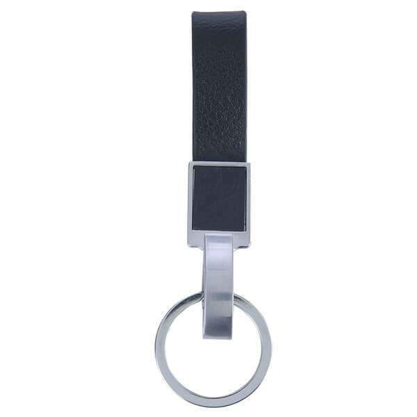 3888C Leather Fob (Black)