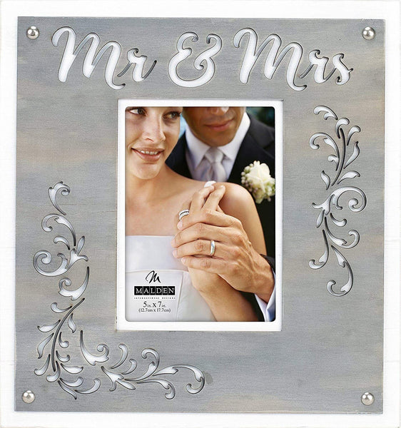 5x7 MR & MRS Layered Frame