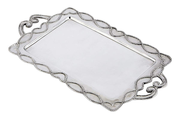 Knot Beau Metal Serving Tray