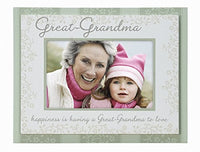4x6 GREAT GRANDMA Frame