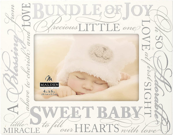 SWEET BABY Quote Frame