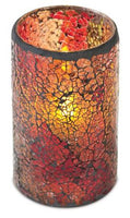 LED Mosaic Candle