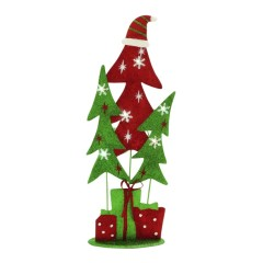Metal LED Xmas Tree (8''W, 21''H)