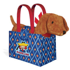 Genevieve the Dog in Madeline's Tote