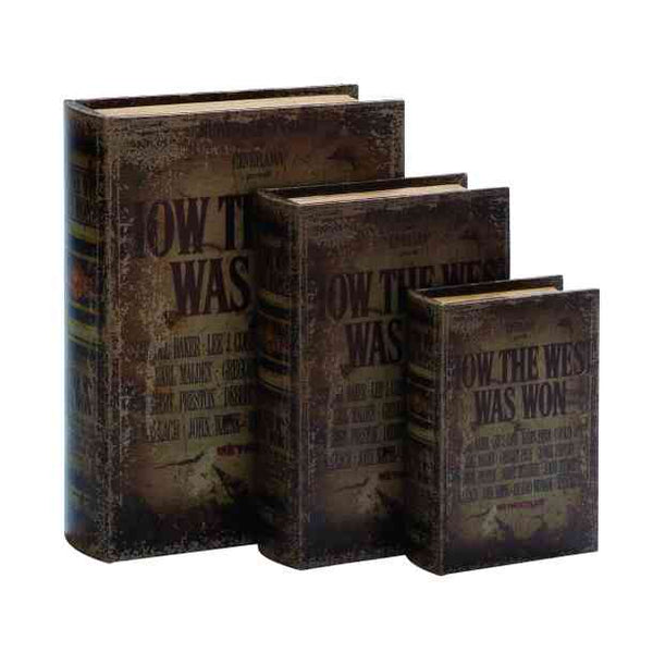 Book Box Set - HOW THE WEST WAS WON