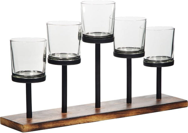 5-Tealight Votive Holder
