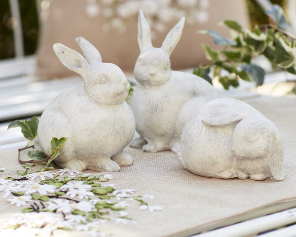 Small Resin Rabbit, assorted