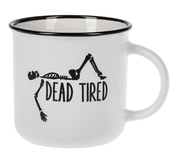 Camp Style Mug - DEAD TIRED