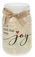 Words of Love Jars LIVE EACH DAY WITH JOY
