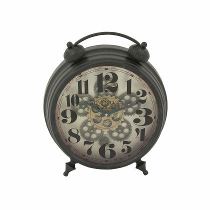 Metal Table Clock (15''W, 18''H)