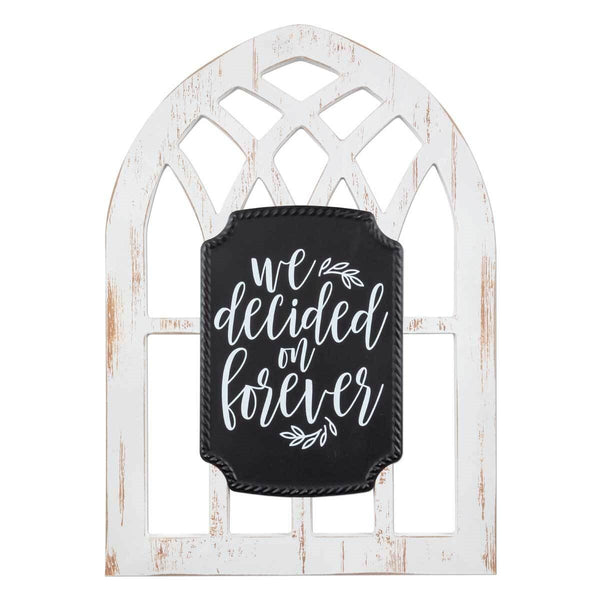 FOREVER Arched Window Sign