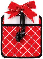 Red & White Plaid Gift Set