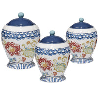 San Marino 3-pc Canister Set