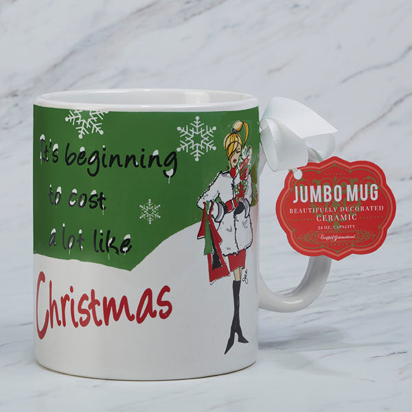 IT'S BEGINNING TO COST A LOT 30-oz Jumbo Mug