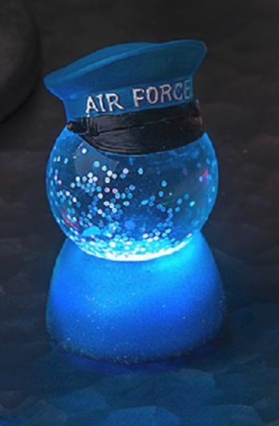 Military LED Mini Shimmer AIR FORCE