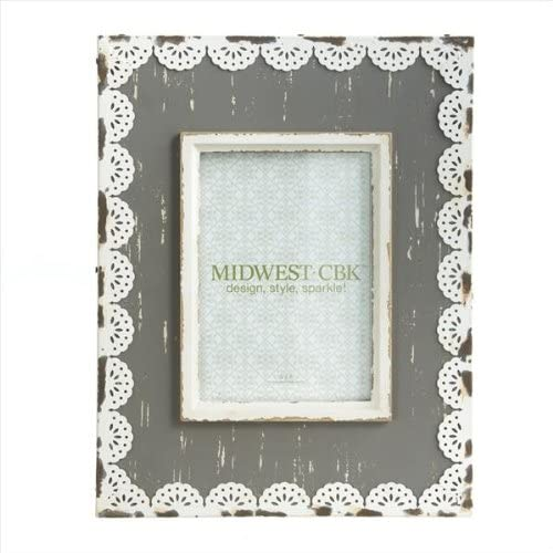 Lace Trim Frame (5x7)