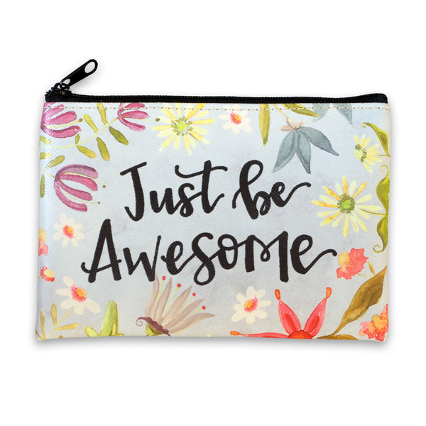 Coin Purse - JUST BE AWESOME