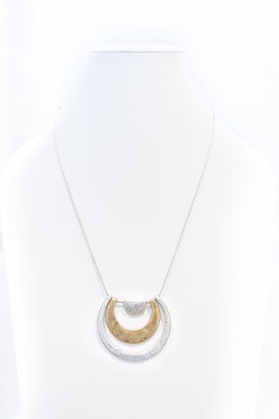 Necklace (two-tone matte)