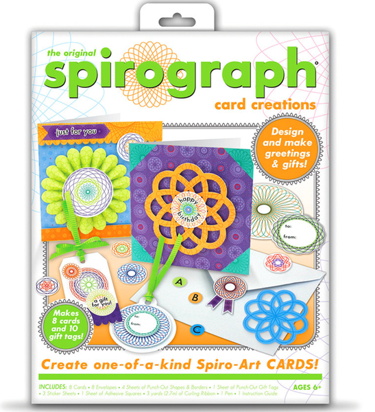 Spirograph Card Creations