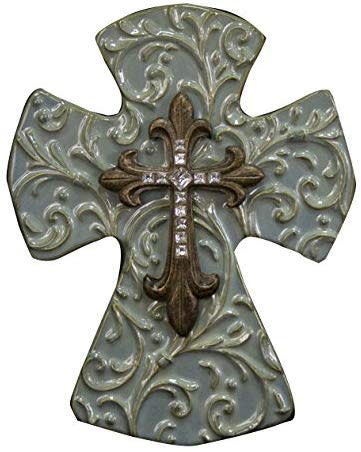 Ceramic Cross (10'')