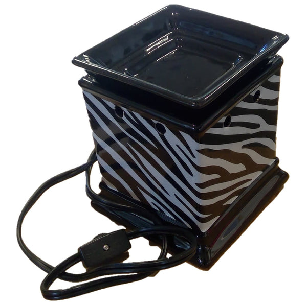 Decal Fragrance Warmer (Zebra Print)