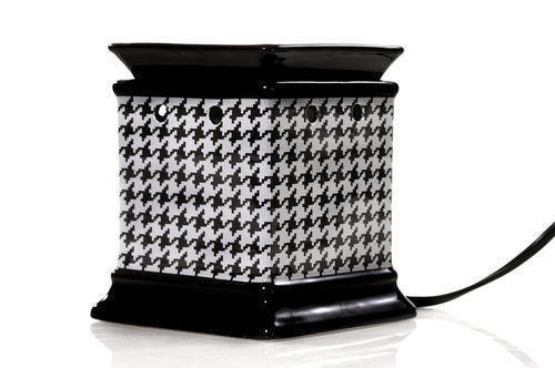 Decal Fragrance Warmer (Houndstooth)
