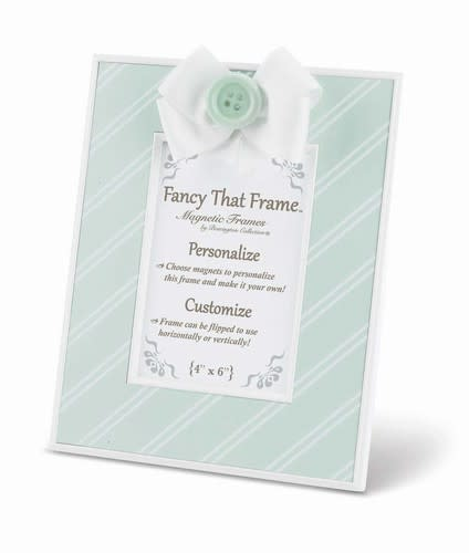 Teal Stripe Frame