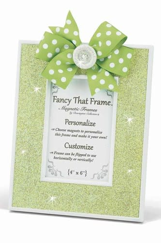 Lime Green Glitter Frame