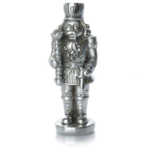 6in Silver Plated Soldier (CLEARANCE)