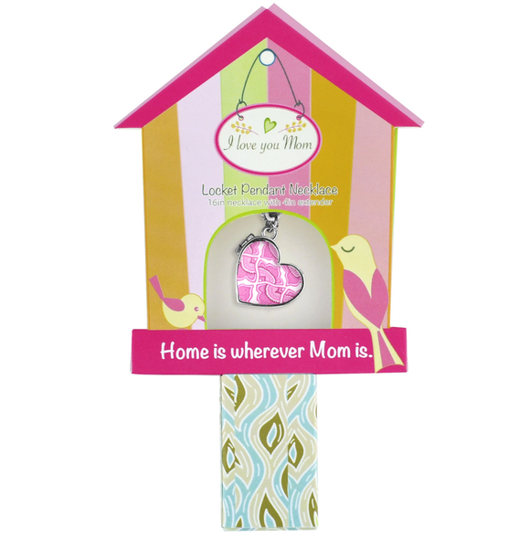 Mother's Day Pink Canary Necklace