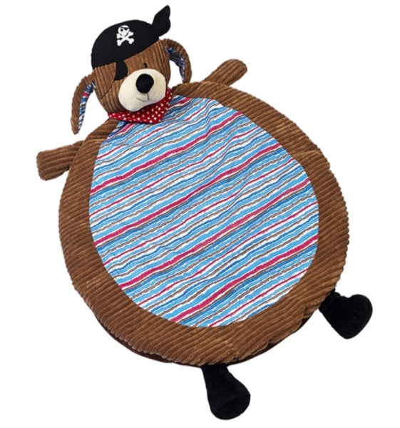 Patch the Pirate Dog Nap Mat