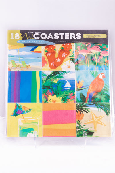 Tropical Paradise Coasters