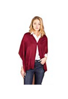Fall Bordeaux Wrap - Red