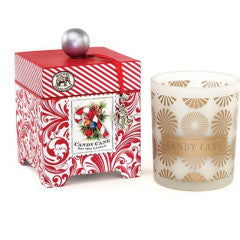 CANDY CANE Large Soy Candle (Clearance)