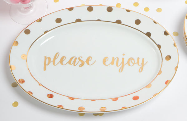 PLEASE ENJOY Platter