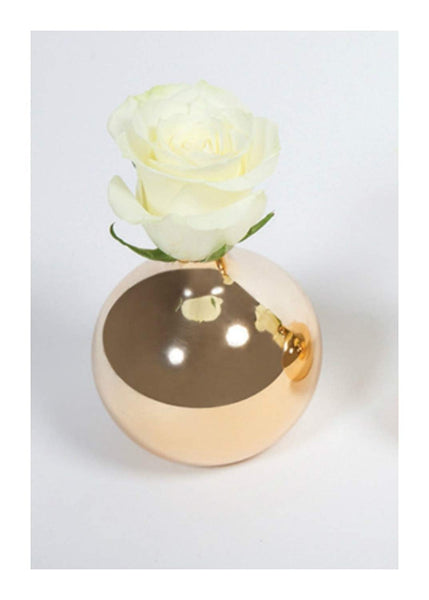 Ceramic Gold Mini-vase (CLEARANCE)