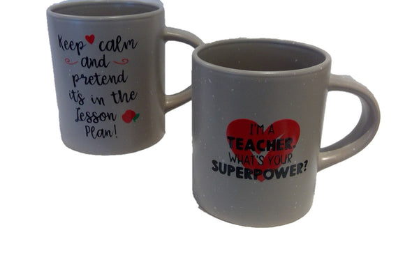 Mug Pencil Holder -  FOR TEACHER
