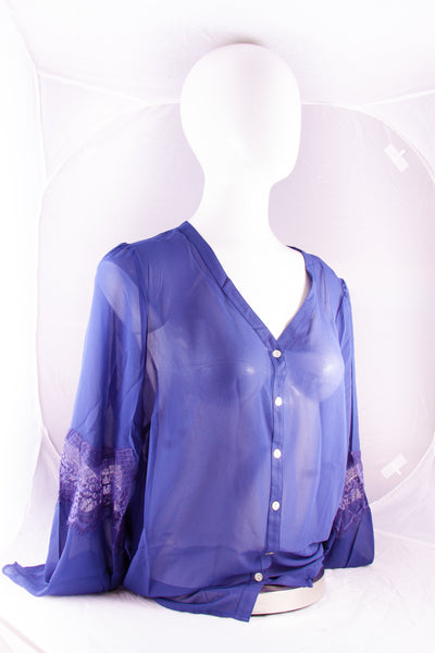 Noelle Top Blue (S/M)