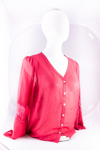 Noelle Top Pink (L/XL)