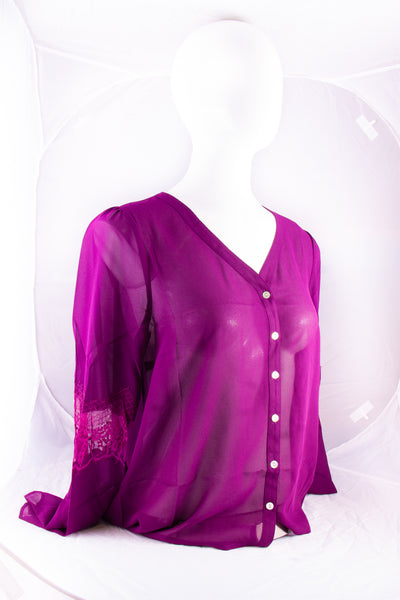 Noelle Top Purple (L/XL)