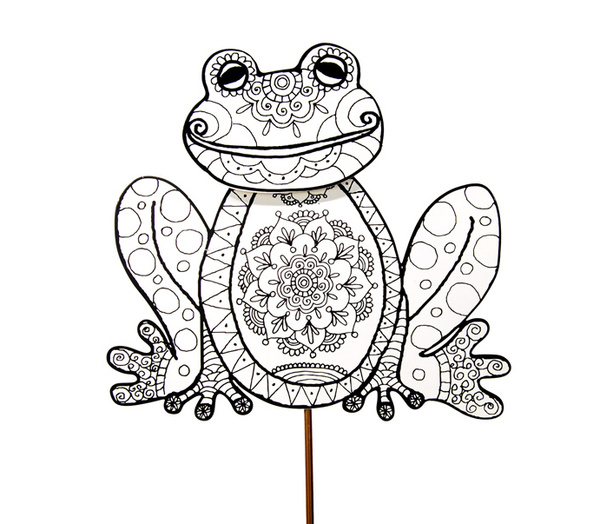 Color My Spring Frog