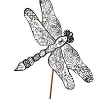 Color My Spring Dragonfly (CLEARANCE)