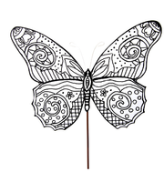 Color My Spring Butterfly