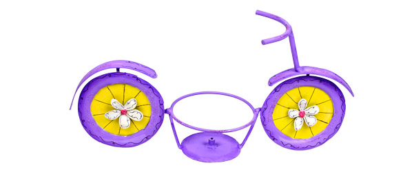 Purple Bicycle 6'' Pot Holder