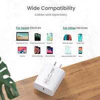 USB-C Adapter (18W) - WHITE