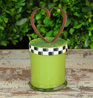 Heart of Round Top Candle