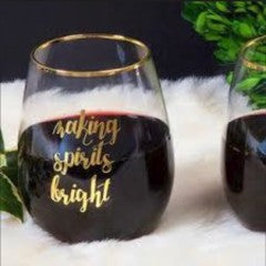 Stemless Wine - MAKING SPIRITS BRIGHT