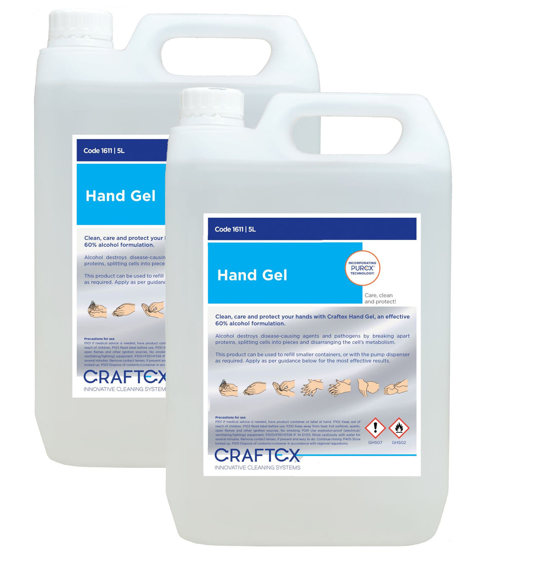 HAND SANITISER 70% ALCOHOL 5 litre - Box of 2
